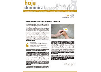 hoja Dominical n. 3677 / 30 agosto 2020