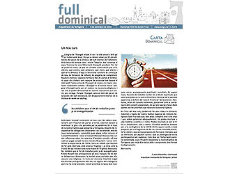 Full Dominical n. 3678 / 6 setembre 2020