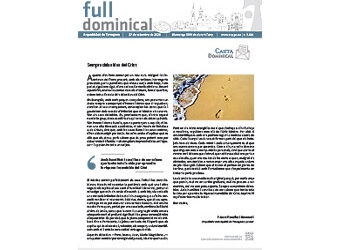 Full Dominical n. 3681 / 27 setembre 2020