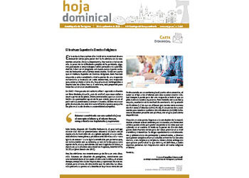 Hoja Dominical n. 3680 / 20 septiembre 2020