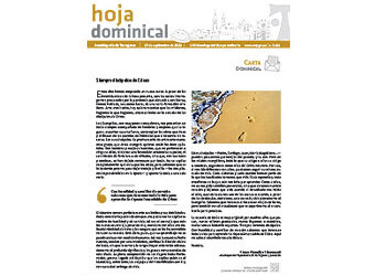 Hoja Dominical n. 3681 / 27 septiembre 2020
