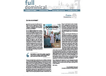 Full Dominical n. 3684 / 18 octubre 2020