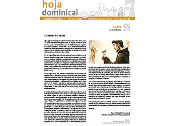 Hoja Dominical n. 3682 / 4 octubre 2020