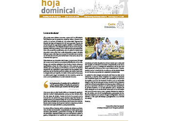 Hoja Dominical n. 3683 / 11 octubre 2020