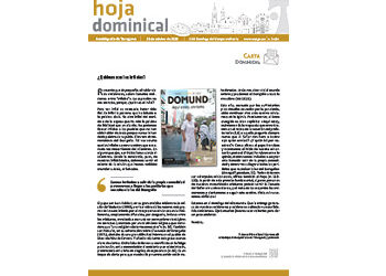 Hoja Dominical n. 3684 / 18 octubre 2020