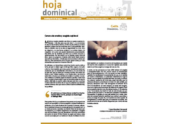 Hoja Dominical n. 3685 / 25 octubre 2020