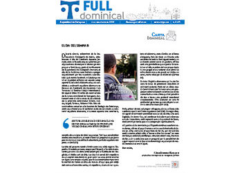 Full Dominical n. 3691 / 6 desembre 2020