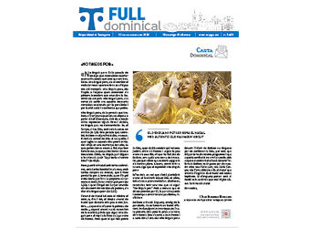 Full Dominical n. 3693 / 20 desembre 2020