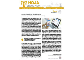 Hoja Dominical n. 3704 / 7 marzo 2021