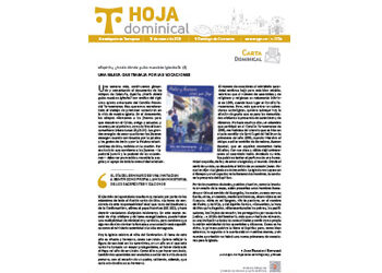 Hoja Dominical n. 3706 / 21 marzo 2021