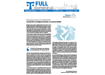 Full Dominical n. 3710 / 18 abril 2021