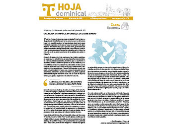 hoja Dominical n. 3710 / 18 abril 2021