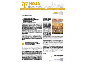 Hoja Dominical n. 3711 / 25 abril 2021