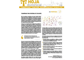 Hoja Dominical n. 3725 / 1 agosto 2021