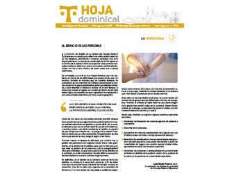 Hoja Dominical n. 3726 / 8 agosto 2021