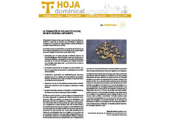 Hoja Dominical n. 3727 / 15 agosto 2021