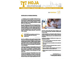 Hoja Dominical n. 3728 / 22 agosto 2021