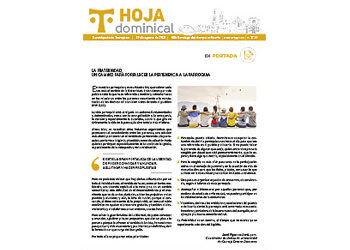 Hoja Dominical n. 3729 / 29 agosto 2021