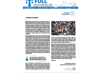 Full Dominical n. 3731 / 12 setembre 2021