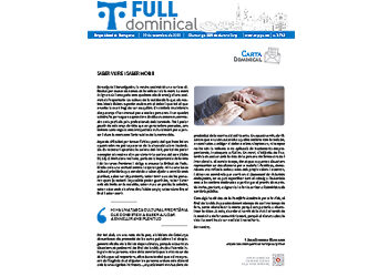 Full Dominical n. 3732 / 19 setembre 2021