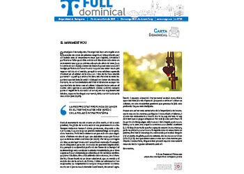 Full Dominical n. 3733 / 26 setembre 2021