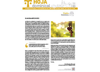 Hoja Dominical n. 3732 / 26 septiembre 2021